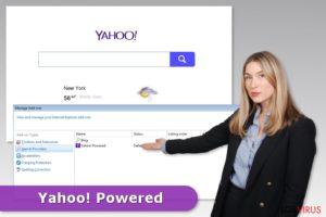 Que es Yahoo Powered  ¿Como eliminarlo?